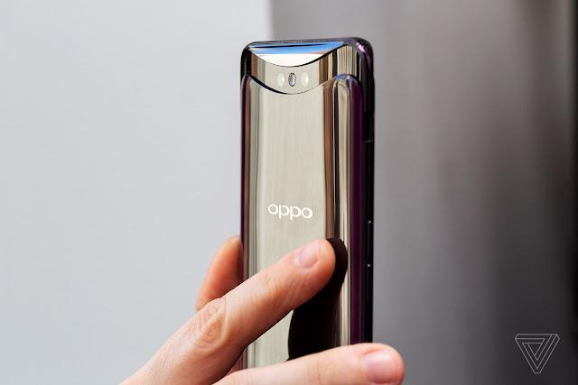 Oppo Find X ไร้รอยบาก และมาพร้อมกับกล้องแบบป๊อปอัพ