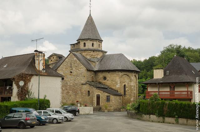 L'Hospital de Saint Blaise pirineo frances viaje visita