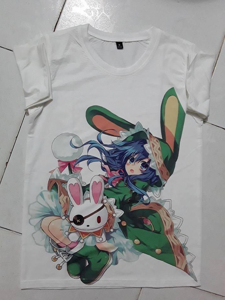 Mẫu áo thun in Anime đẹp - Hình 3