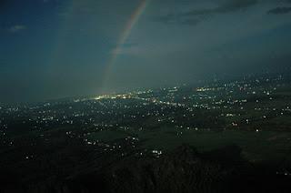 Suasana Malam Tempat Wisata Gunung Pringgitan