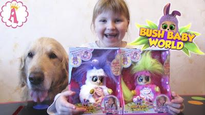 Мягкие игрушки Bush Baby World