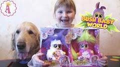 """Мягкие игрушки Bush Baby World: персонажи из мультфильма """"Пушистики"""""""