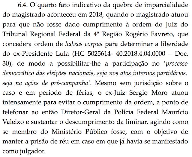 Gilmar estende suspeição de Moro aos demais processos envolvendo Lula, livre para disputar Planalto em 2022