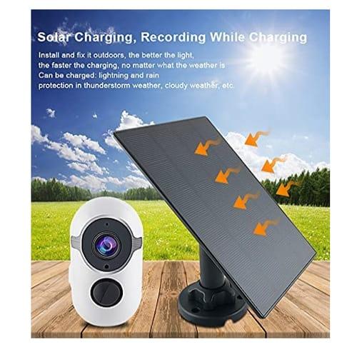 Wyzlink Solar Rechargeable Outdoor Security Camera