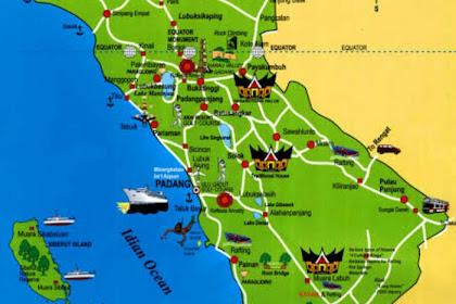 Inilah 6 Kabupaten Terbesar dan Terpadat di Provinsi Sumatera Barat Indonesia