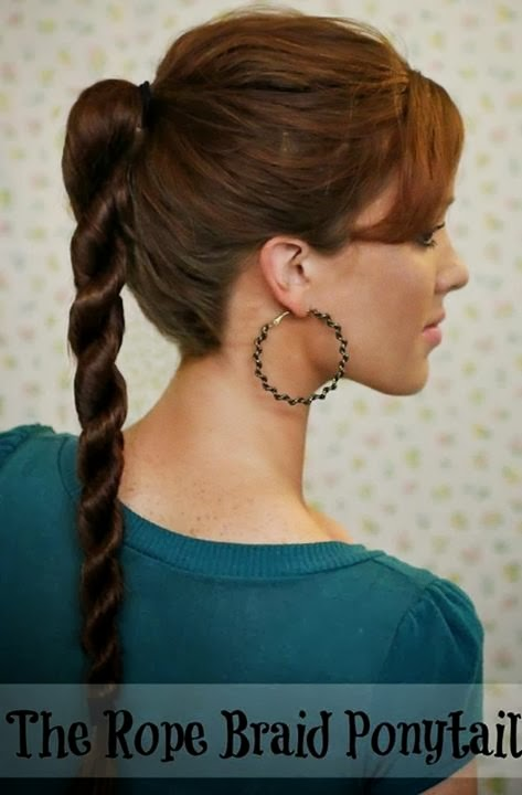 Phenomenal Latest Hair Style 2014 For Girls Ladies Style Hairstyles For Women Draintrainus