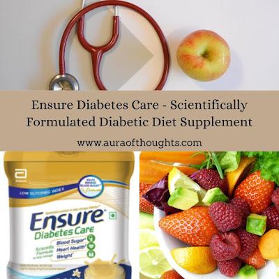 Ensure Diabetes Care Supplement - MeenalSonal