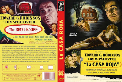 Carátula dvd: La casa roja / The red house