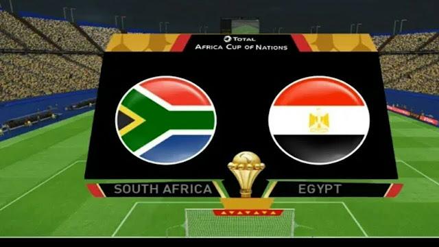 موعد Egypt vs South Africa مباراة مصر وجنوب إفريقيا اليوم 06/7/2019 كأس الأمم الأفريقية (دور الـ 16) كورة رابط
