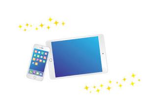 iPadとスマートフォン