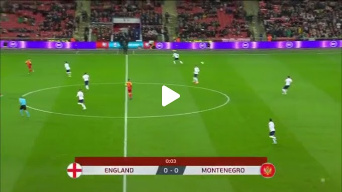 VIDEO: Angleterre 7:0 Montenegro / European Qualifiers