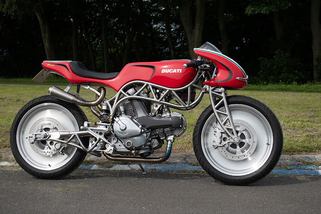 Ducati Monster 600 By Alonze Custom Hell Kustom