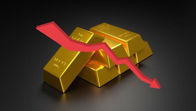 Precio del oro baja hoy