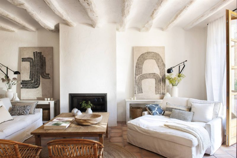 Décor Inspiration: A Rustic 19th Century Home in Barcelona