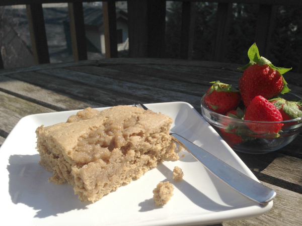 Vegan and Gluten-Free Cinnamon Coffee Cake from Kim's Welcoming Kitchen