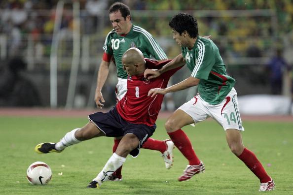 México y Chile en Copa América 2007, 4 de julio