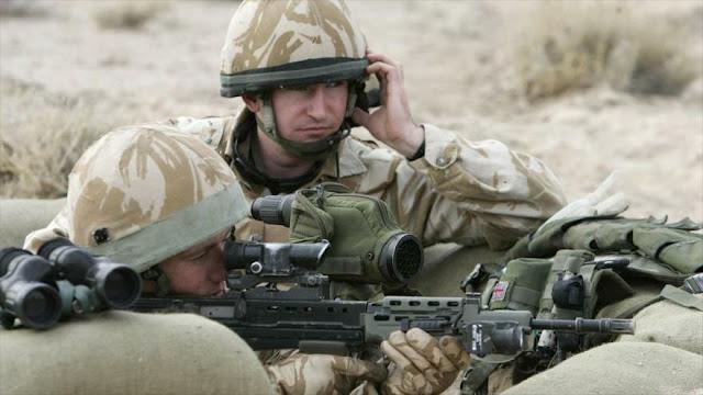 """Ejército británica envió """"niños soldados"""" a Irak y Afganistán"""