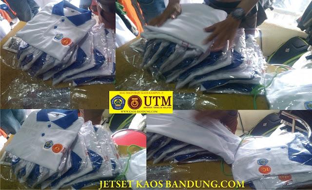 Tempat Bikin Kaos Sablon Baju Kampus Polo Shirt Murah di bandung