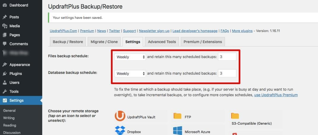 Backup / Restore