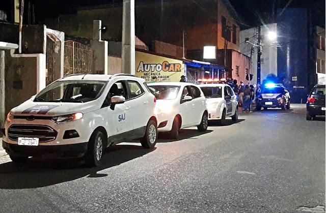 SAJ: Defesa Civil, PM e Guarda Municipal realizam abordagens para orientar comerciantes a se adequar ao decreto municipal contra o Covid-19