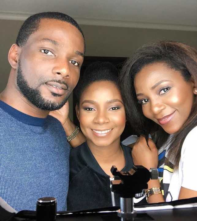 Genevieve Nnaji and her Silblings look likes Triplet