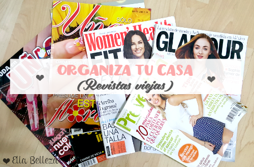Organiza tu casa Revistas viejas