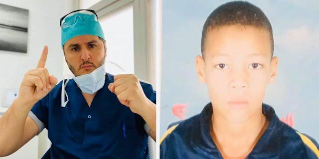 """بعدما أمر الملك بعلاجه..الدكتور المغربي بنتهامي يزف خبر نجاح العملية الجراحية من أمستردام للطفل """"يحيى"""" ضحية الكلاب الضالة بمدينة كلميمة 👇👇👇"""