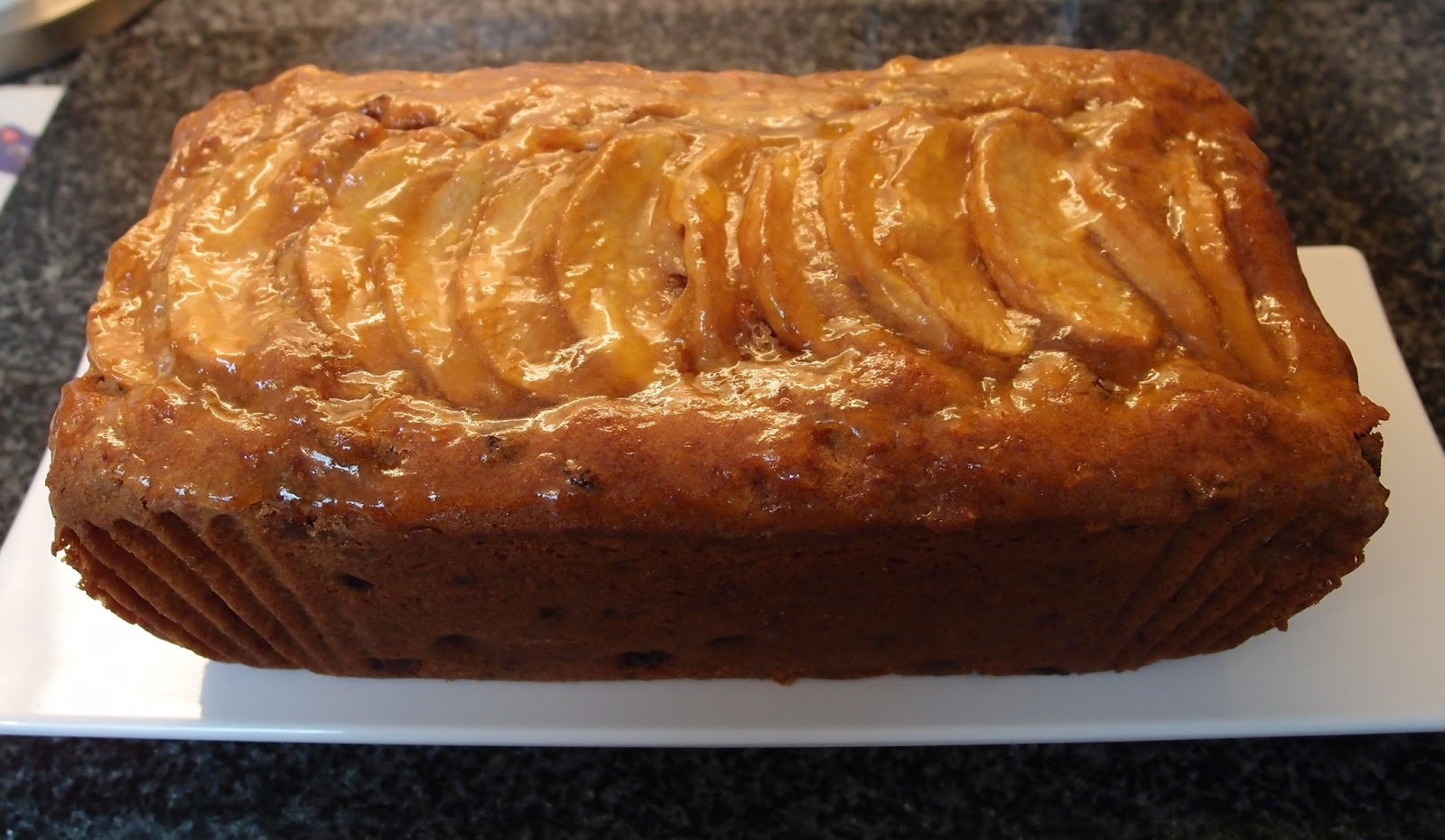 Apple And Almond Tea Cake