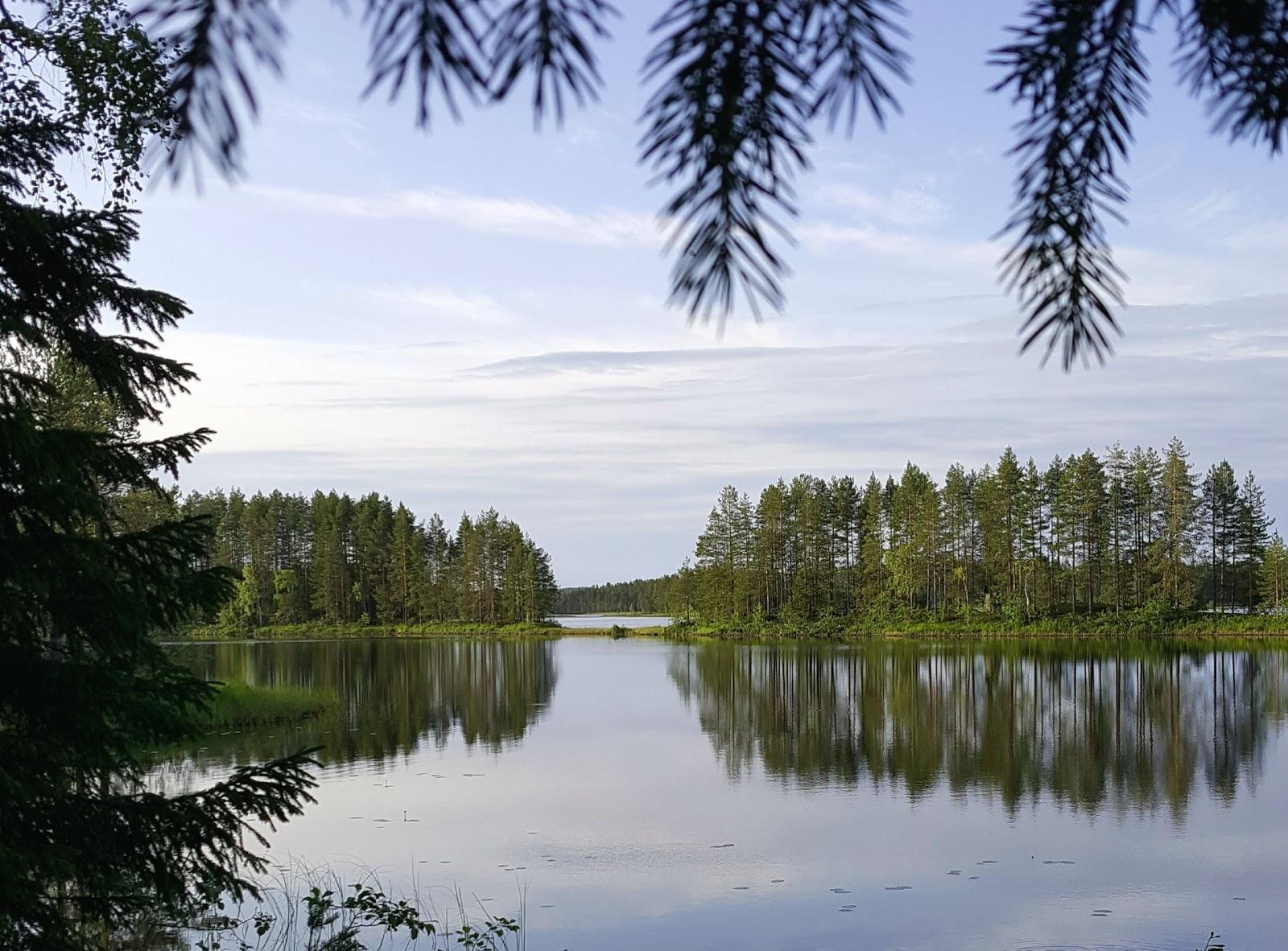 mökkiranta Pohjois-Karjalassa