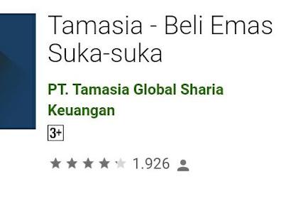Tamasia adalah aplikasi yg sudah bekerja sama dengan Paytren