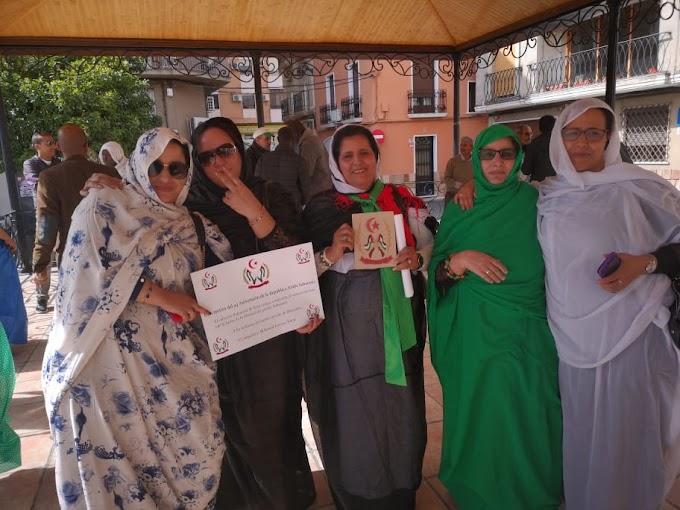 La diáspora Saharaui en España se involucra en la celebración del 44 aniversario de la República Saharaui