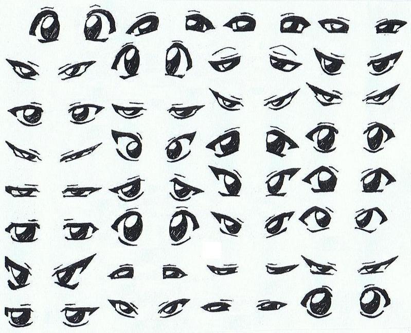 Hai Nana Como Desenhar Olhos De Anime Manga