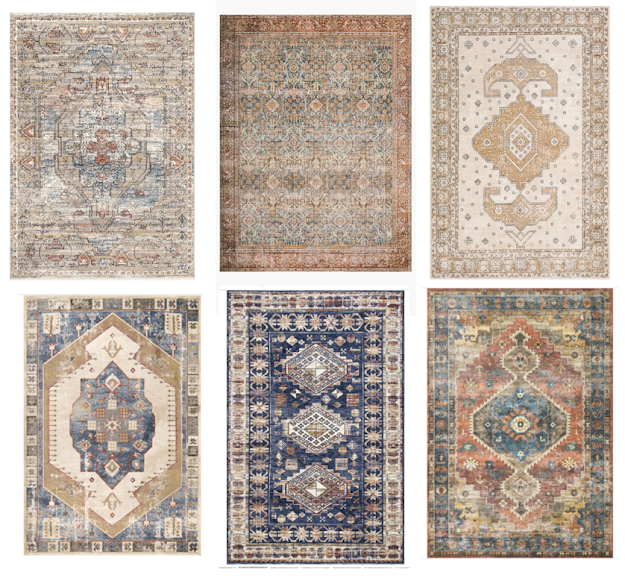 vintage rugs for a boy's room