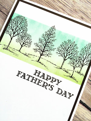 Lovely As A Tree Father's Day Card made with Stampin' Up! UK Supplies - buy Stampin' Up! UK here