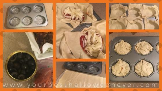 pumpkin shaped pizza pocket recipe