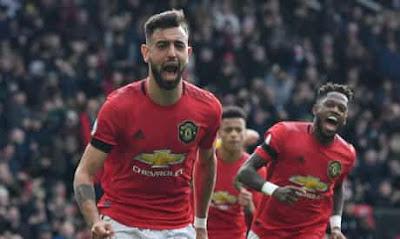 فرنانديز يقود مان يونايتد إلى المركز الخامس في الدوري الإنجليزي