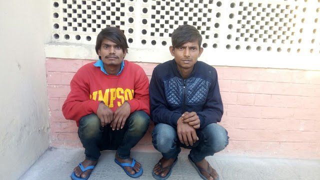 Police Crime Branch Palwal arrested two such accused