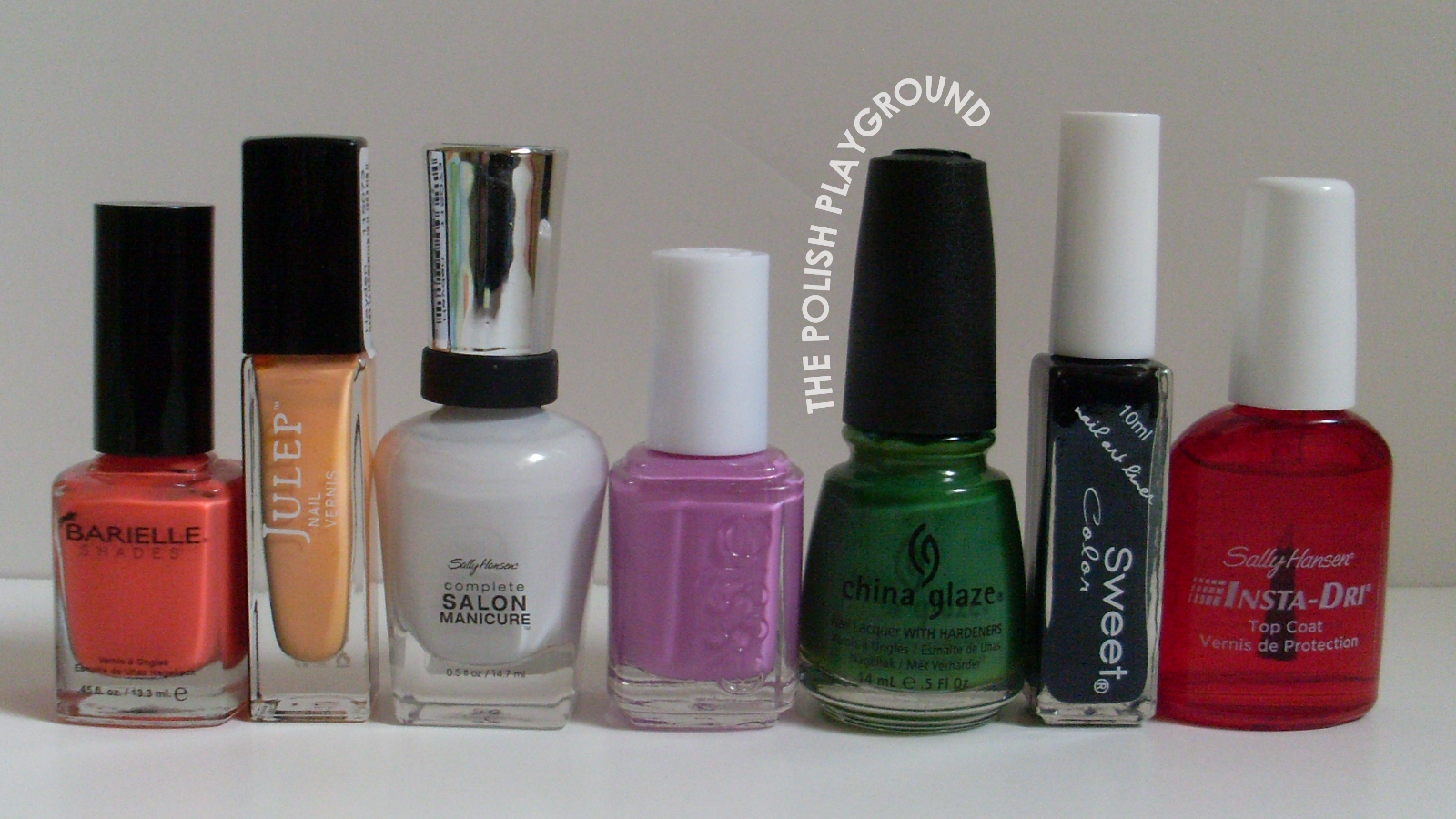 Barielle, Julep, Sally Hansen, Essie, China Glaze, Born Pretty Store