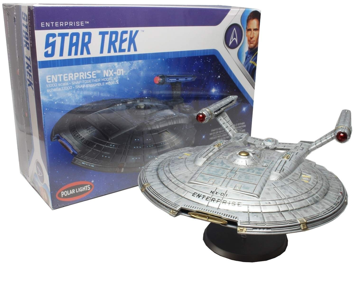 The Trek Collective: Round 2 Model's Discovery model kit