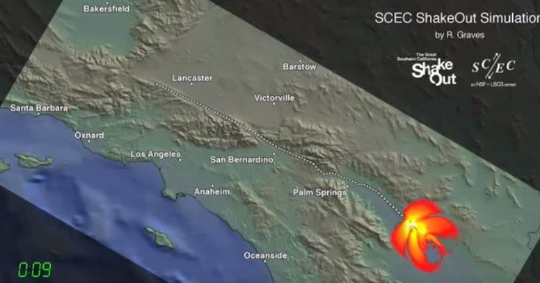 Imminente Mega Terremoto nella Faglia di Sant'Andrea