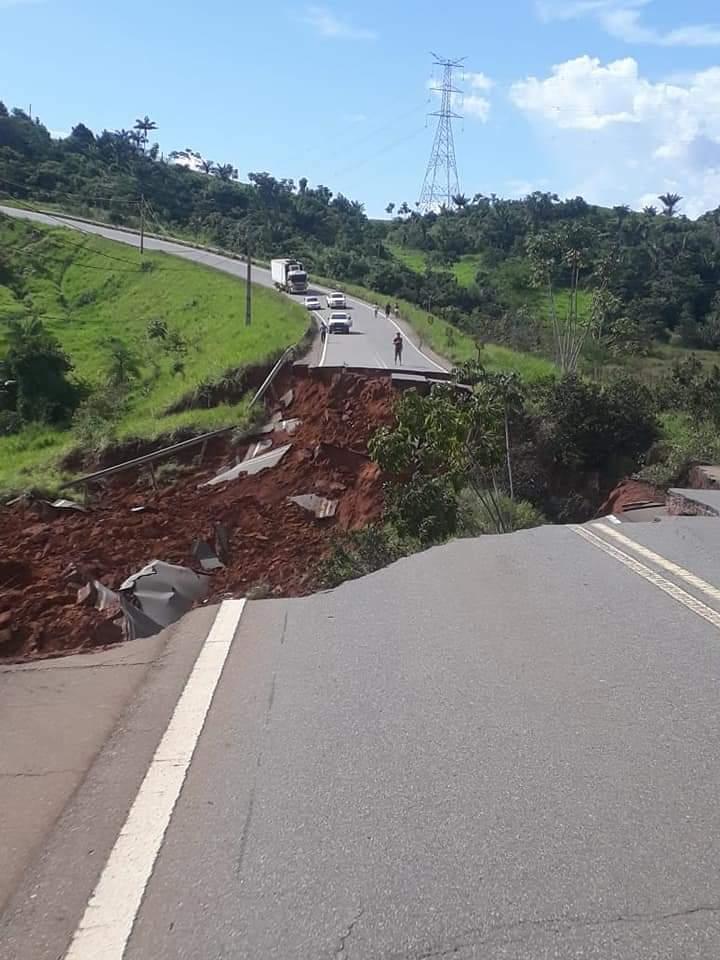Desmoronamento de trecho da Transamazônica: MPF cobra explicações do DNIT