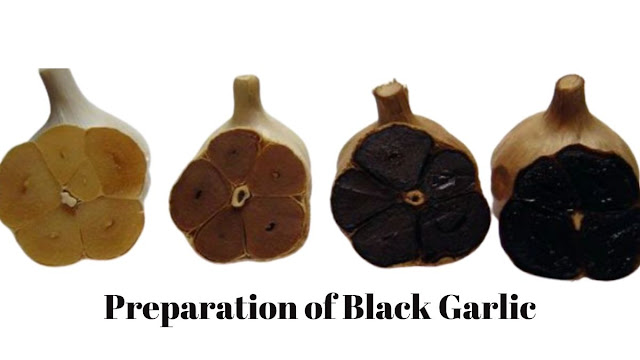 preparation process of black garlic