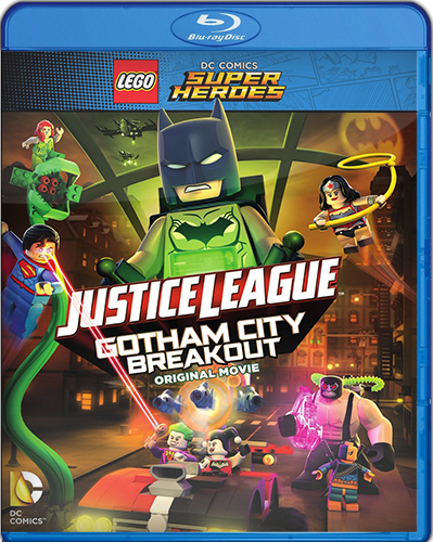 Justice League – Gotham City Breakout [BD25] [2016] [Latino]