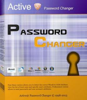برنامج تغيير الباسورد :-   7 Active Password Changer   لفك أي باسورد (كلمة مرور) علي اي نسخه ويندوز