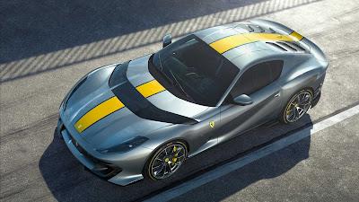 فيراري تطرح سيارة جديدة محدودة الإصدار بمحرّك V12