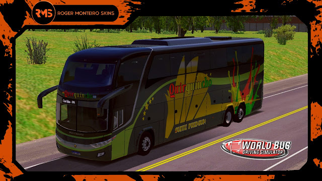 Quirquincho, Skins World Bus Driving Simulator