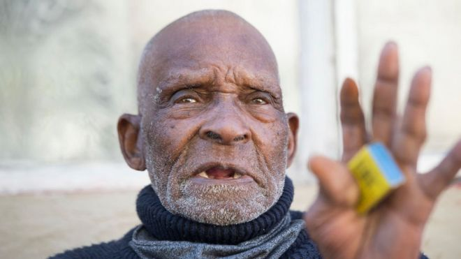 Fredie Blom: 'World's oldest man' dies aged 116 in South Africa