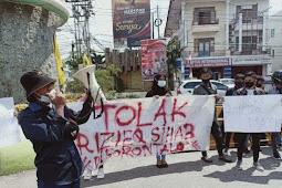 Aliansi Mahasiswa Dan Pemuda Peduli NKRI Tolak Kedatangan Habib Rizieq Ke Gorontalo