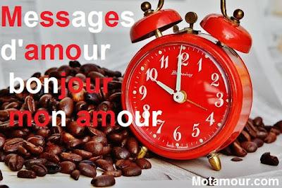 photo Messages d'amour bonjour - Message de bonjour à mon amour