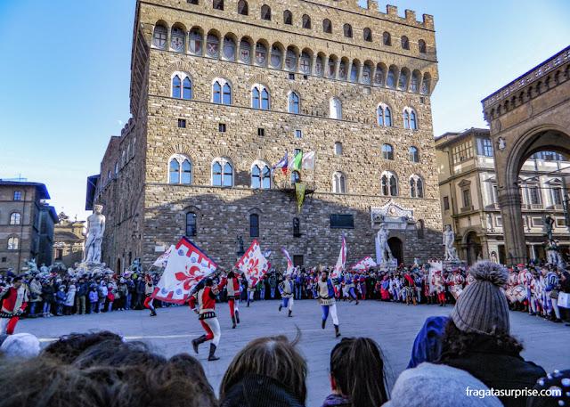 Desfile da Festa da Befana, a celebração do Dia de Reis em Florença
